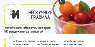 картинка правила русского языка про устойчивые обороты