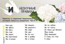картинка правила русского языка про наречия